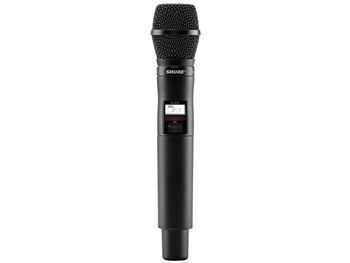 Shure QLXD2/SM87 G50 Band (470.125 - 533.925 MHz) Handheld Transmitter with SM87 Microphone