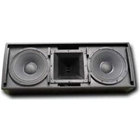 Electro-Voice QRX-212H/75-BLK, Black Dual 12-inch two-way speaker