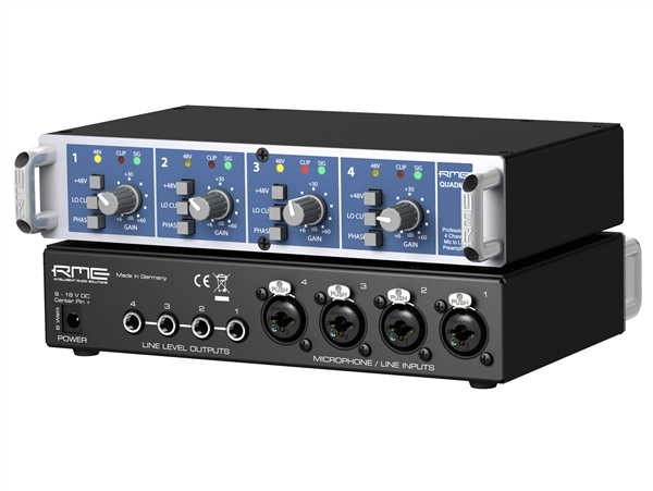 RME  QuadMic II - 4-Channel Mic PreAmp