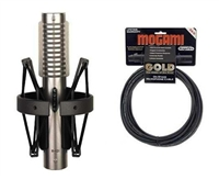 Royer R-121 Microphone,Royer R-121 Dynamic Ribbon Mic Mogami Gold AT84