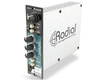 Radial PreMax - Channel strip w/mic preamp, EQ for 500 Series