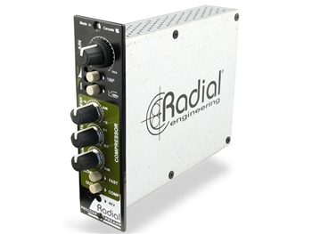 Radial PreComp - Channel strip w/mic preamp, VCA comp for 500 Series