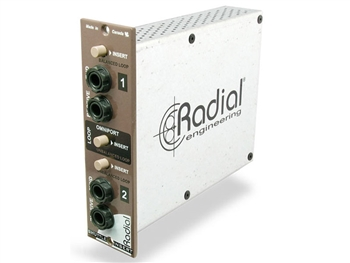 Radial Shuttle - Studio patchbay module for 500 Series