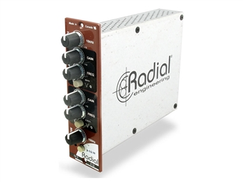 Radial Engineering Q4 - Class-A 4 band EQ for 500 Series