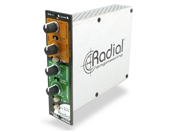 Radial TossOver - Variable 2-band filter and frequency divider for 500 Series