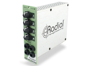 Radial SubMix - 4x1 mixer module for 500 Series