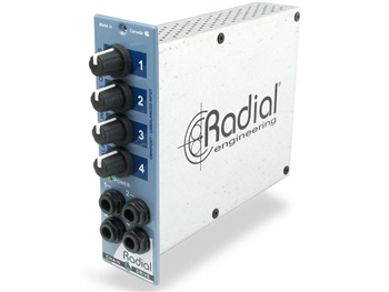 Radial Engineering ChainDrive - 1x4 distribution amp for 500 series
