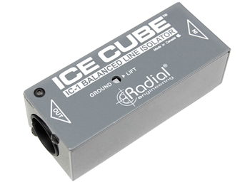 Radial Engineering Ice Cube - Line level isolator