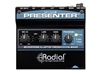 Radial Engineering Presenter - Presentation mixer with mic preamp