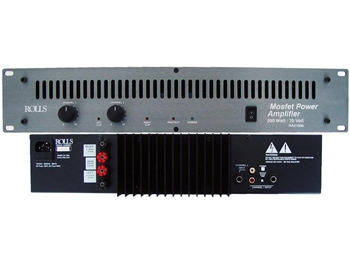 Rolls RA2100b 200 Watt / 70 Volt Power Amp 2U