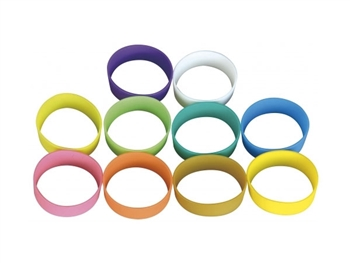 MIPRO RH-77a, Set of 10 multi-color identification rings for ACT-7Ha and ACT-30H handheld microphones