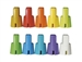 MIPRO RH-88, Set of 10 multi-color identification end caps for ACT-8H handheld microphones