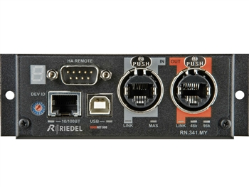 Riedel RockNet RN.341.MY Digital Network I/O Card