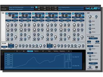 Rob Papen Blue II - Virtual Synth Hybrid (Download license)
