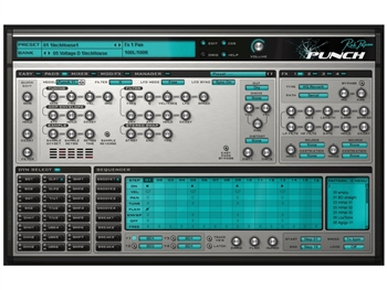 Rob Papen PUNCH percussion oreinted Virtual Synth Hybrid (Download license)