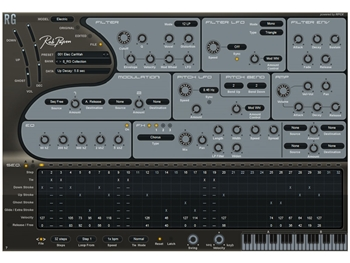 Rob Papen RG Rhythm Guitar Synth Hybrid (Download version)