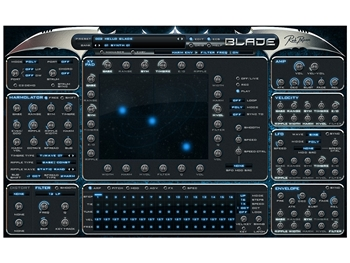 BLADE virtual synth instrument,  Rob Papen   (Download license)