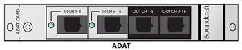 Soundcraft ADAT 16 channel i/o Card for Vi Control Surface Option