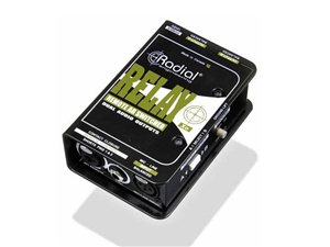Radial Engineering Relay XO - Balanced AB wireless signal router