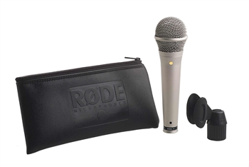 Rode S1 Handheld Condenser Microphone Silver color