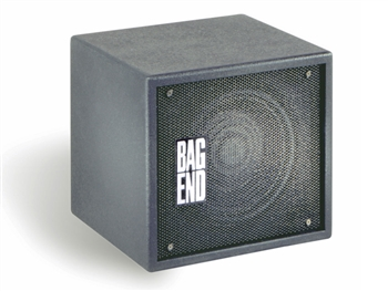 Bag End S10E-I Subwoofer  Black Painted Single 10 passive Installation Enclosure