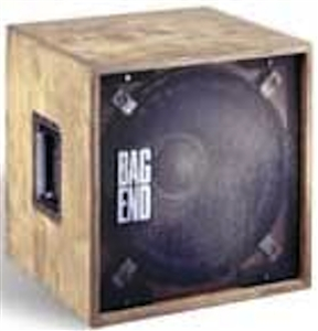 "Bag End S15B-B - Oiled Birch Single 15"" Low Bass Enclosure"