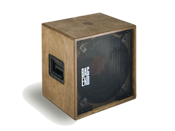 "Bag End S15X-B - Oiled Birch Single 15"" Compact Enclosure w/ AX-HI Drive"