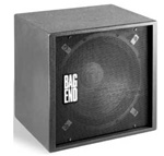 Bag End S18E-R RO-TEX Finish Single 18 Portable Enclosure with Stand Adapter