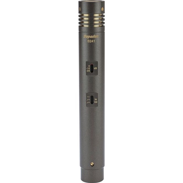Superlux S241/U3,True Capacitor Cardioid Pencil Condenser Instrument Microphone
