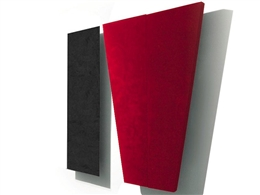 Auralex SonoSuede HT System (Red and Black)
