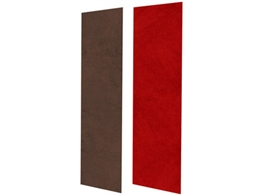 Auralex SonoSuede Pro System (Red and Brown)