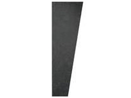 Auralex SonoSuede Trapezoid Panel Black (Right Angle)