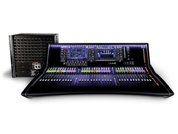 Allen & Heath S7000/DM64 dLive S7000 Surface + DM64 Mix Rack
