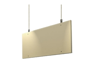 "Primacoustic Saturna, Beige Hanging Ceiling Baffle, 24""x 48"" x 2"""