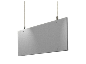 "Primacoustic Saturna, Grey Hanging Ceiling Baffle, 24""x 48"" x 2"""