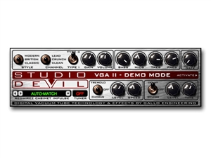 Studio Devil Virtual Guitar Amp II Plug-in