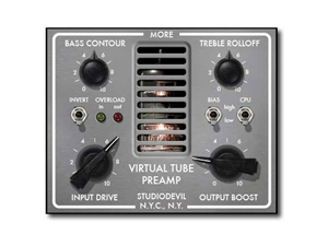 Studio Devil Virtual Tube Preamp Plug-in