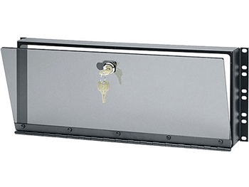 "Middle Atlantic SECL-4 - 4 Space (7"") Hinged Smoked Plexi Security Cover"