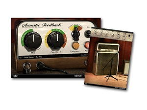 Softube Acoustic Feedback guitar emulation plug in
