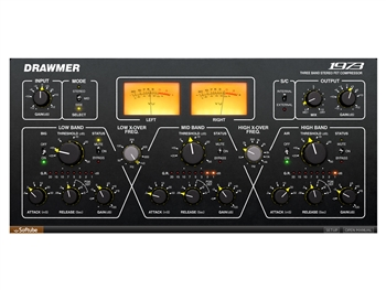 Softube Drawmer 1973 Multi-Band Compressor