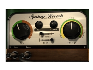 Softube Spring Reverb software plug in  ( license code download)