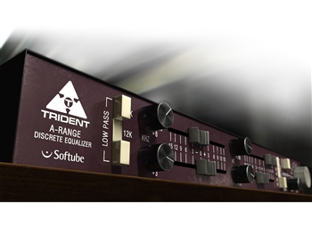 Softube Trident A-Range 4 band EQ software plug in (license code download)