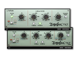Softube Tonelux Tilt EQ, software plug in ( license code download)