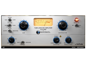 Softube Summit Audio TLA-100A compressor software plug in (license code download)