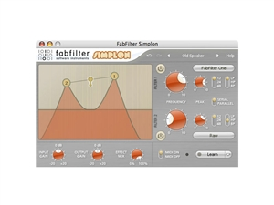 FabFilter Simplon, Unique filters plug-in (Download)