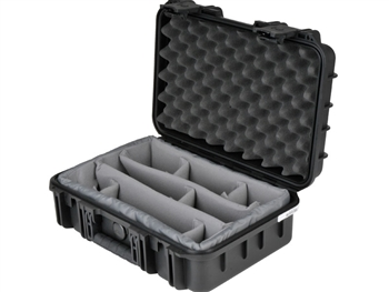 "SKB 3I-1610-5B-D Mil-Std Waterproof Case 5"" Deep (w/ dividers)"