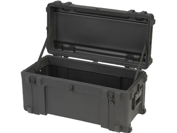 "SKB 3R3214-15B-EW Roto Mil-Std Waterproof Case 15"" Deep (empty w/ pull handle and wheels)"