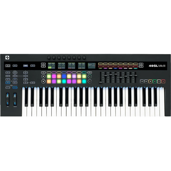 Novation SL49 MK III Midi and Cv Keyboard controller with Sequencer ( 49 key)
