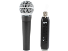 Shure SM58-X2U Cardioid dynamic mic with X2U usb adapter