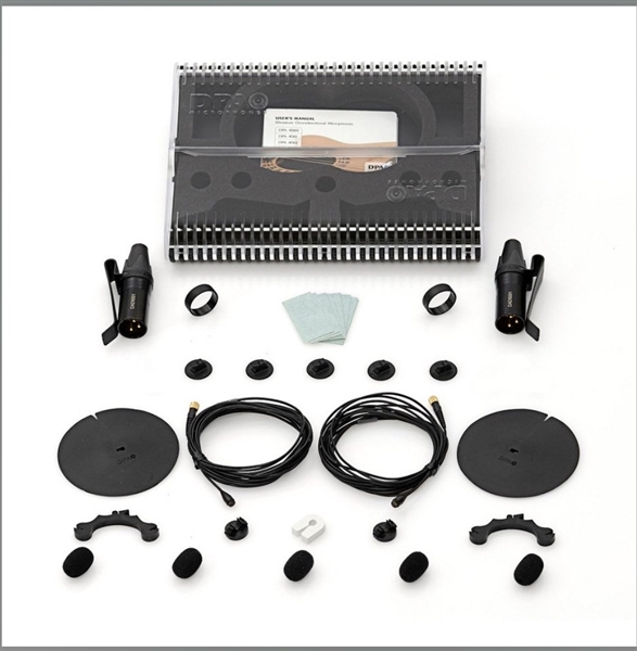 DPA SMK-SC4060, Stereo Miking Kit - 2x 4060 mics and accessories